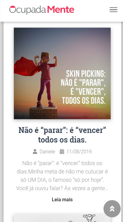 LC Portfolio - Website OcupadaMente